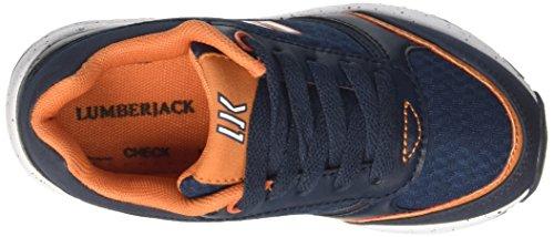 Lumberjack Twiddle 005m67 - deportivas bajas Niños Blu (Blue/Orange)