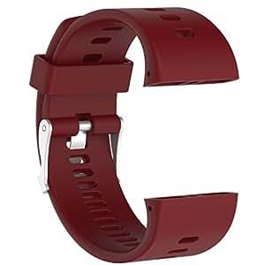 Cinta de repuesto para Polar V800, kingwo silicona caucho reloj de pulsera pulsera para Polar V800 Reloj, 0.07 pounds: Amazon.es: Relojes