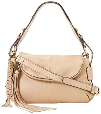 Lucky Brand Glendale Flap LB1124 Shoulder Bag,Stone,One Size