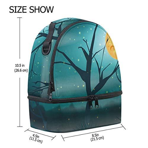 avec bandoulière à lune avec pour Pincnic à Boîte Cooler Sac Alinlo la réglable l'école Firefly lunch Tote isotherme 7qxnwPSa