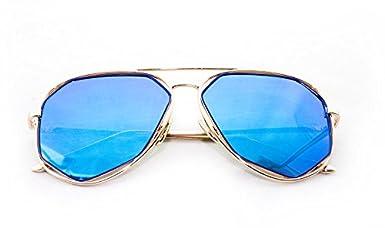 Raven Geometric Ultra Premium Brushed Aluminum Flash Sunglasses Newbee Fashion