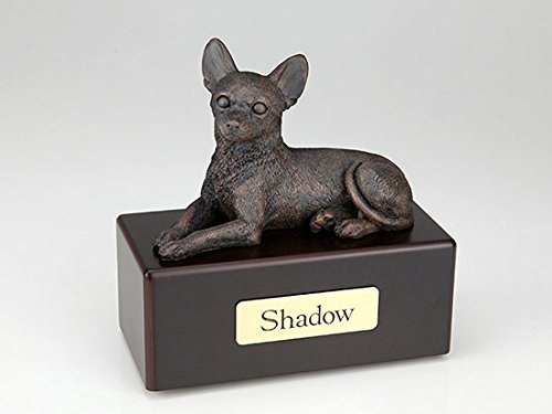Ever My Pet Chihuahua Economy Bronze Series Dog Pet Urn by Ever My Pet