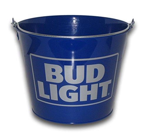 Bud Light Blue Beer Bucket