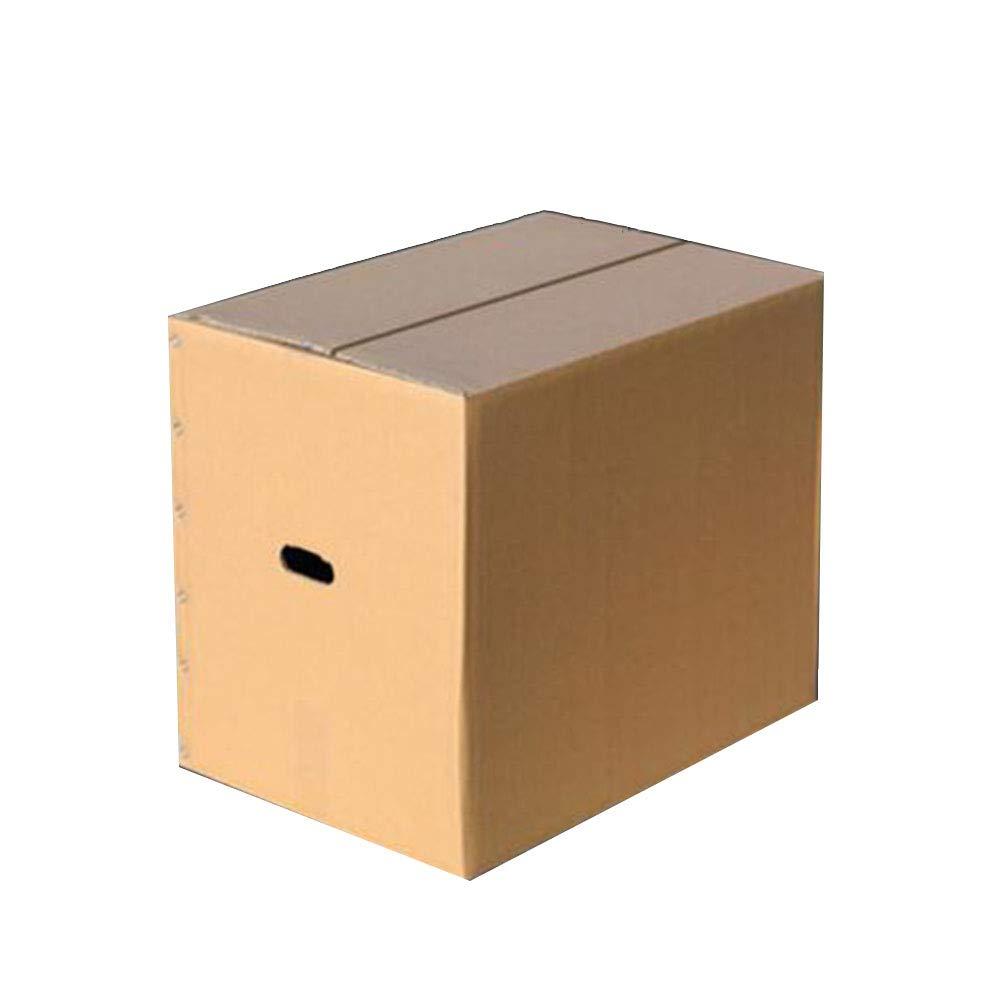 KKCF 段ボール強い穿孔された運搬ハンドル5層の段ボールフラットパッケージ郵送用品4サイズ 1パックにつき10または20 B07GCM4GQ4 60x40x50cm|Quantity10 Quantity10 60x40x50cm