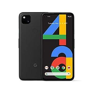 Google Pixel 4a (Just Black, 6GB RAM, 128GB Storage)