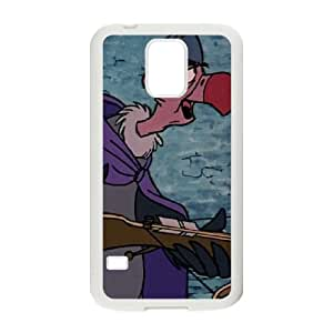 Samsung Galaxy S5 Cell Phone Case White Disney Robin Hood Character Trigger the Vulture 003 OQ7637569