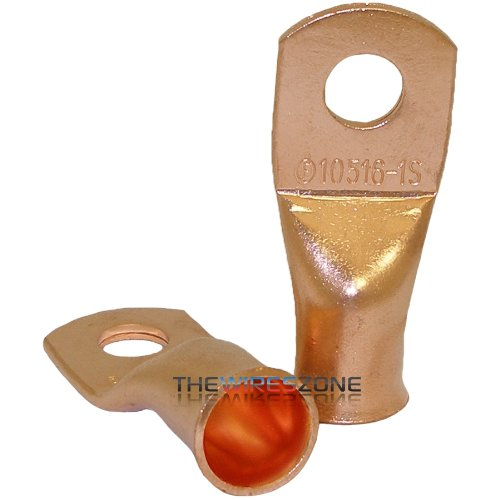the-install-bay-cur10516-copper-1-0-gauge-5-16-stud-ring-terminal-5-pack