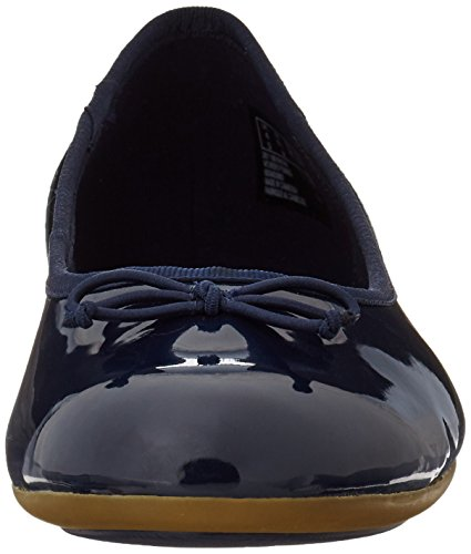 Clarks Couture Bloom, Bailarinas para Mujer Azul (Navy Patent)