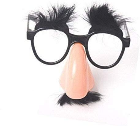Fun Halloween Disguise Glasses Big Nose Mustache Eyebrow Eyeglasses Party Supply