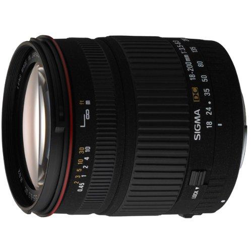 Sigma 18-200mm f/3.5-6.3 DC Lens for Canon Digital SLR Ca...