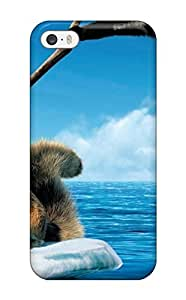 Iphone 5/5s Case Cover - Slim Fit Tpu Protector Shock Absorbent Case (ice Age 4)