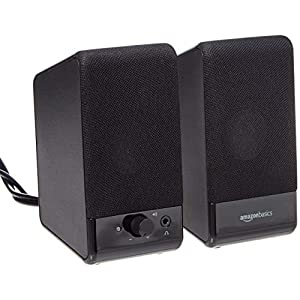 Amazon Basics Computer Speakers for Desktop o...