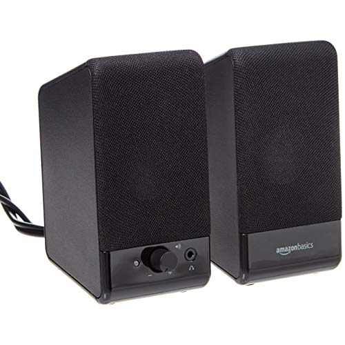 AmazonBasics Computer Speakers for