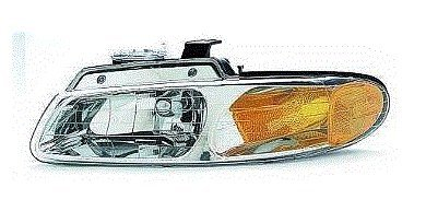 Fits 96 97 98 99 00 Dodge Caravan Chrysler Town & Country NEW DRIVER Headlight Single Headlamp bulb Plymouth Voyager