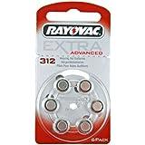 Hörgerätebatterien Rayovac Extra 312