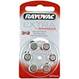 Rayovac extra 312 - Batería para audífonos