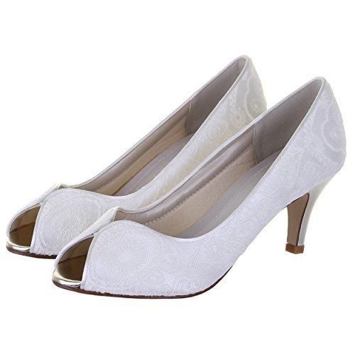 Rainbow Club Martha Ivory Wedding Shoes Size 6 itTHCcVJA