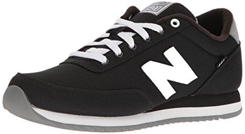 New Balance Men's MZ501 Pique Polo Pack Fashion Sneaker, Black/Gunmetal, 8 D - New Polo Black