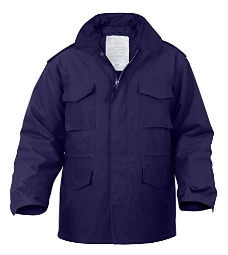 Rothco M-65 Field Jacket - Navy Blue, X-Large