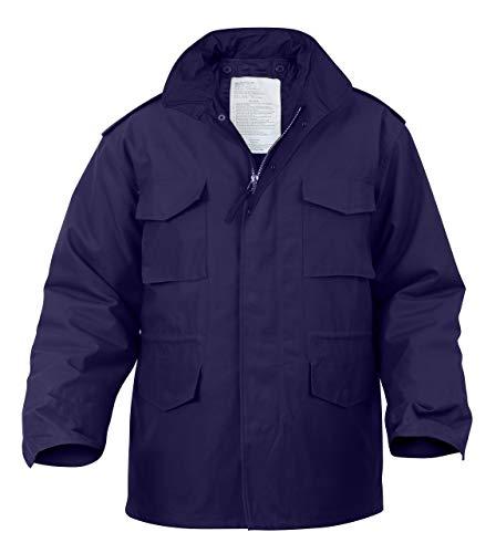 Rothco M-65 Field Jacket, Navy Blue, L