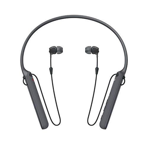 Sony Wireless Behind-Neck Headset w/Earbuds - Black - WI-C400 (Refurbished)