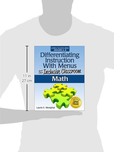 Workbook differentiated instruction worksheets : Amazon.com: Differentiating Instruction With Menus for the ...