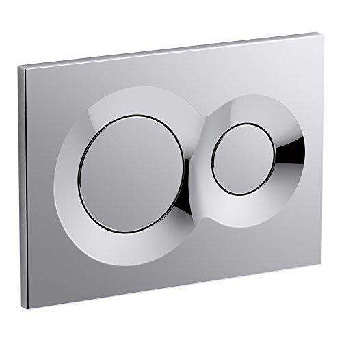 - KOHLER K-75890-CP Lynk Flush Actuator Plate for 2