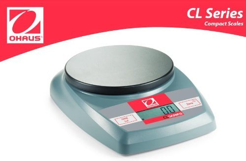 Ohaus CL5000 Lab Balance Portable Scale 5000g X 1g, Units g, lb:oz, ozt, dwt, New