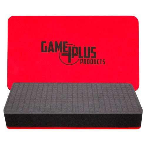 Foam Game Plus Pluck Tray Storage Case (2 Inch) -
