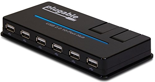 Plugable 10 Port Adapter Flip Up Charging