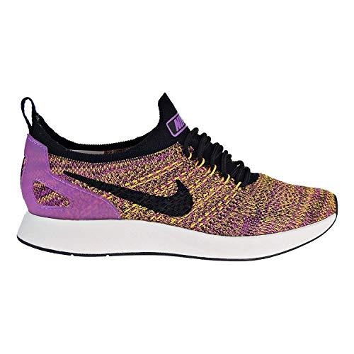 Nike Women''s Air Zoom Mariah Flyknit Racer Trainers (7 M US, Black/Black-Fuchsia Glow) (Nike Zoom Women Flyknit)