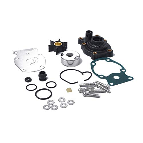 Loria Water Pump Kit Impeller Repair Kit Replacement for Johnson Evinrude 20 25 30 35 hp 393630