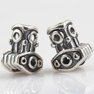 Everbling Thor Hammer 925 Sterling Silver Bead Fits