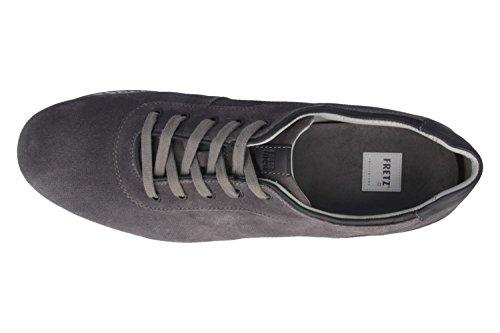 FRETZ men–Tornado–Chaussures basses Homme–Gris Chaussures en übergrößen