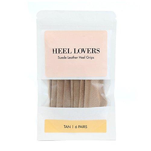 Heel Lovers High Heel Grip Cushion Pads - Tan - 6 Pair by Heel Lovers