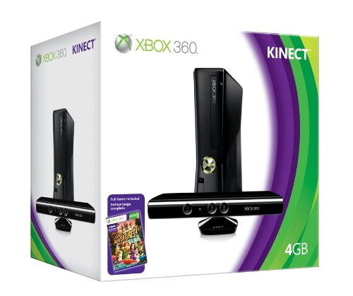 Xbox 360 4GB Console with Kinect by Microsoft (Image #2)