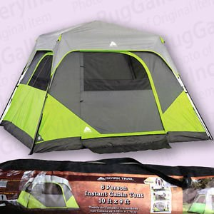 ozark trail 6 person instant cabin tent the camping 88883