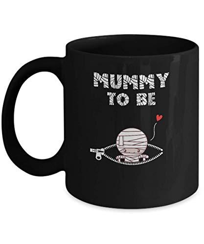 TeesPass Cute Baby Mummy To Be Pregnant Halloween Costume Mug 11oz ()