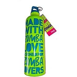 Zumba lime green Aluminum Water Bottle
