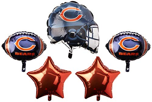 Anagram 31399 Chicago Bears Balloon Bouquet,