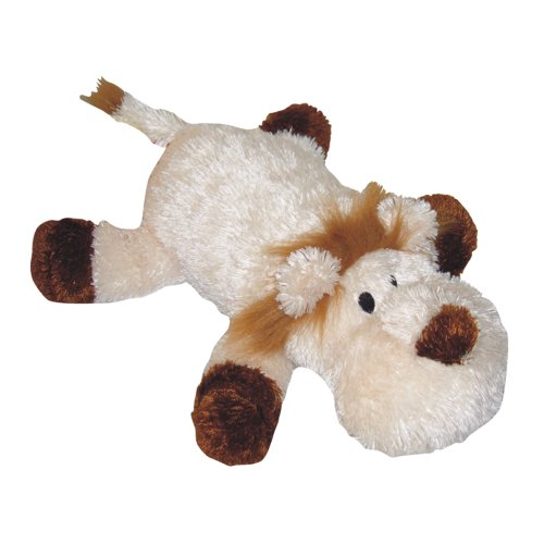 Pet Lou LIO-14 Colossal Dog Chew Toy, 14-Inch Lion, My Pet Supplies