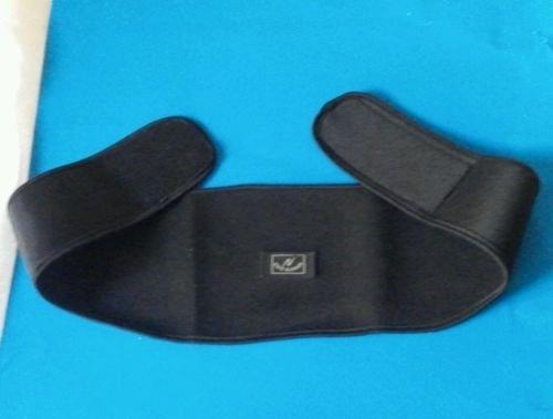 Motorcycle neoprene back support warmer belt