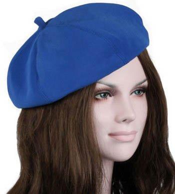 S Cloth Blue Fashion Spring Autumn Warm Women Girls Felt French Beret Beanie Hat Cap