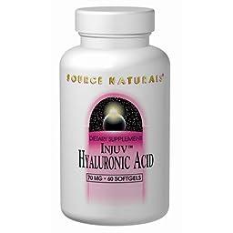 Source Naturals Hyaluronic Acid 70mg, 30 Softgels
