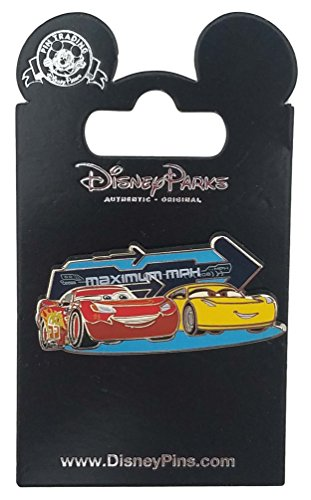 Disney Pin - Pixar Cars 3 - McQueen and Cruz Ramirez Maximum (Maximum Pin)