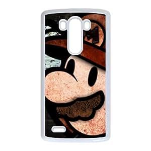 Super Mario Bros Lg G3 Cell Phone Case White SEJ6563033116802