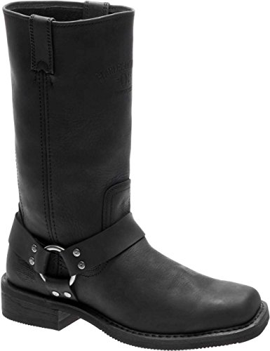 (Harley-Davidson Men's Bowden Motorcycle Boot, Black, 10.5 Medium US)