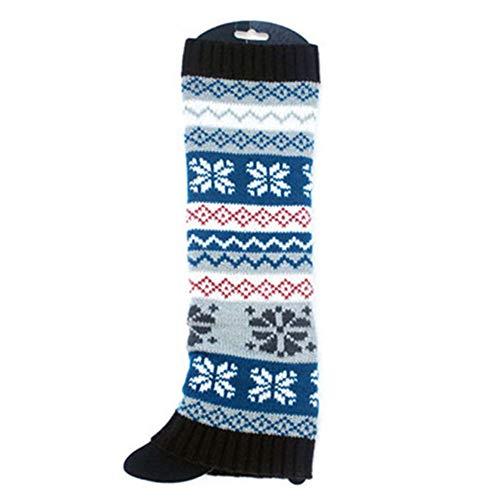 SMTSMT_socks Women Winter Warm Socks Knit Leg Warmers Crochet Leggings Slouch Boot Socks