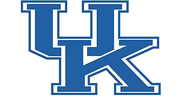 "University of Kentucky Wildcats Color Vinyl Decal You Choose Size 2/""-28/"""
