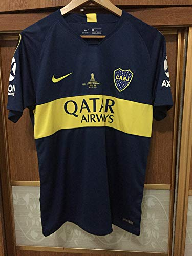 sale retailer cc0c1 429c4 Amazon.com : Retro Boca Juniors LIBERTADOS Final Soccer ...